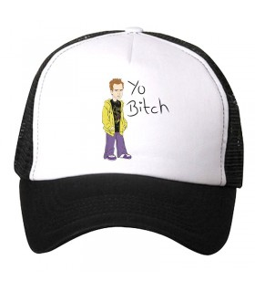 yo bitch art printed cap